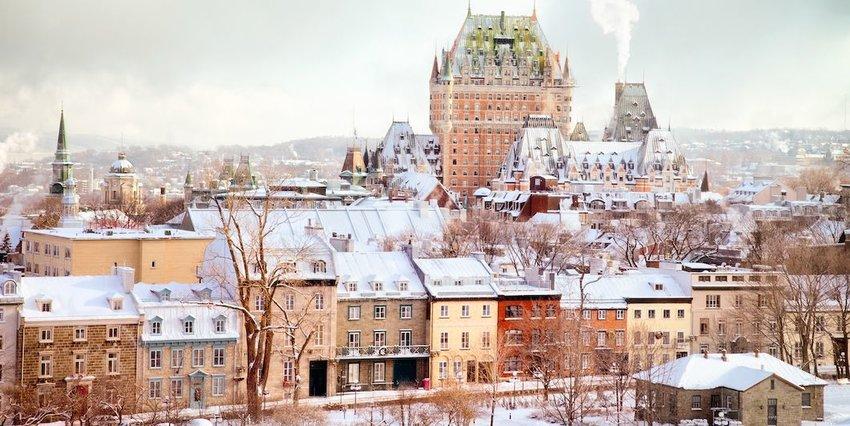 Syracuse, New York, U.S.A., and Quebec City, Canada (Tie)