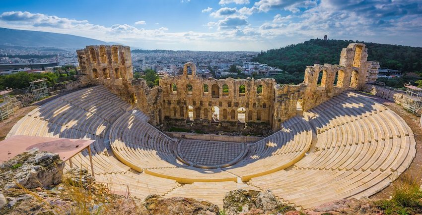 The Theater of Dionysus, Greece