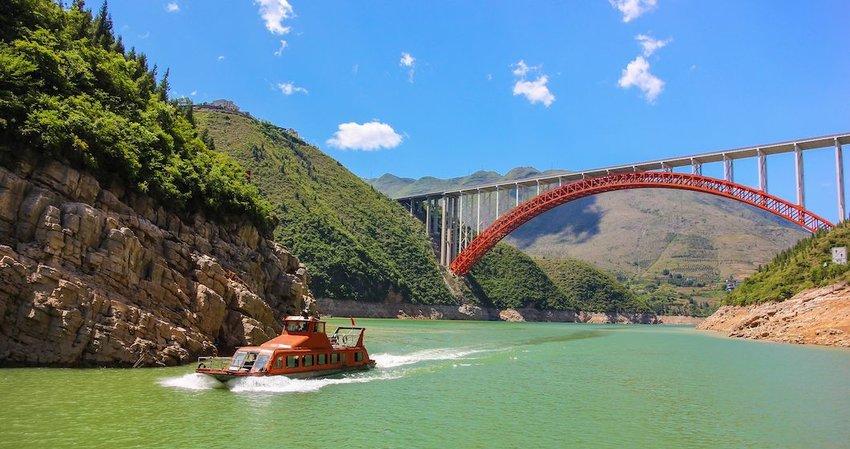 Over 50 Bridges Span the River