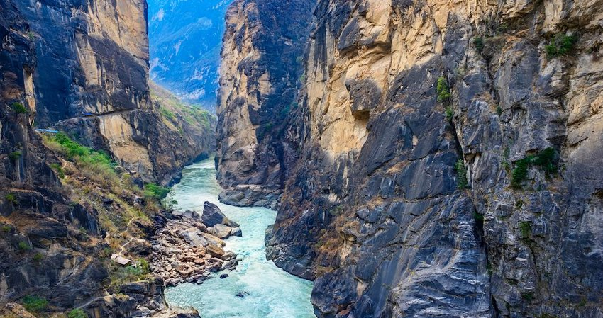 It is Home to the Deepest Gorge in the World