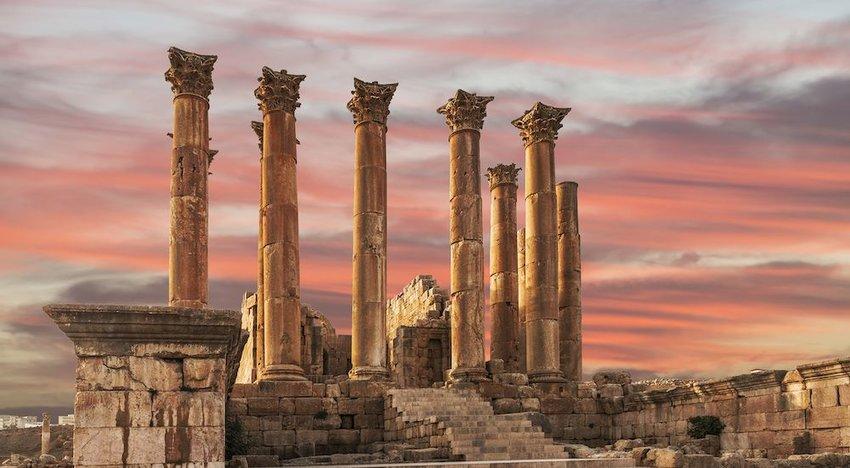 Roman Ruins (Jerash, Jordan)