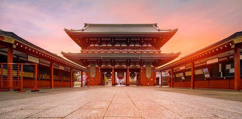 Meiji Shrine and Sensoji-Temple, Tokyo, Japan