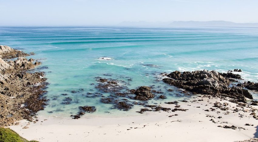 Gansbaai Beach, Gansbaai, South Africa