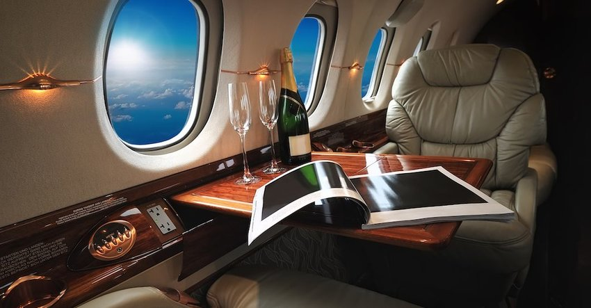 3 Most Luxurious Private Jets in the World