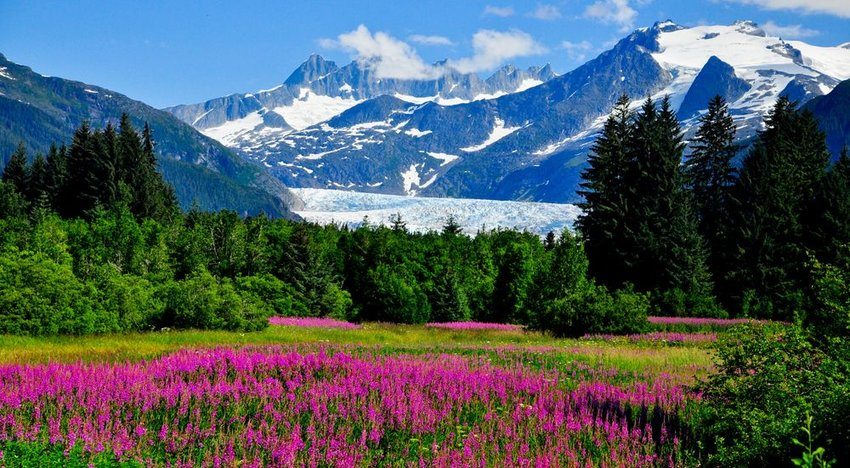 Alaska Is the Westernmost, Easternmost and Northernmost State in the U.S.