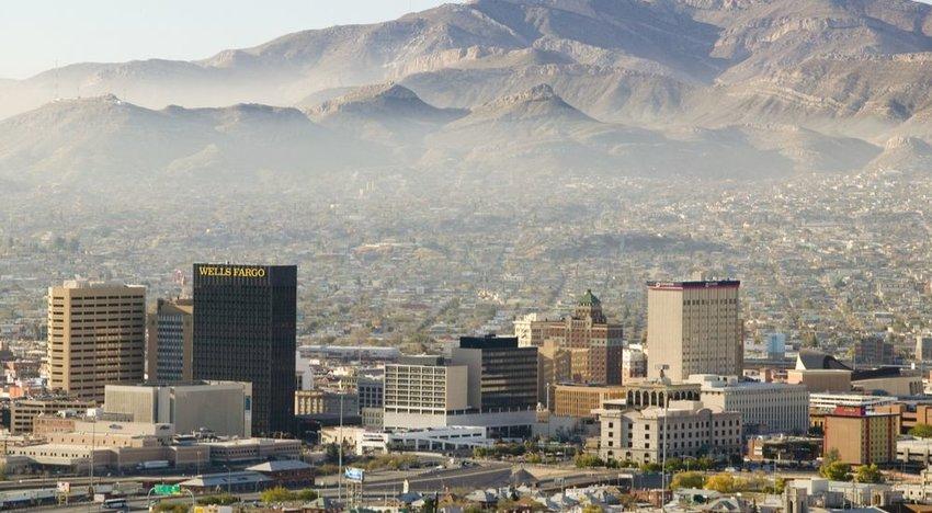 El Paso, Texas (84% Sunshine)