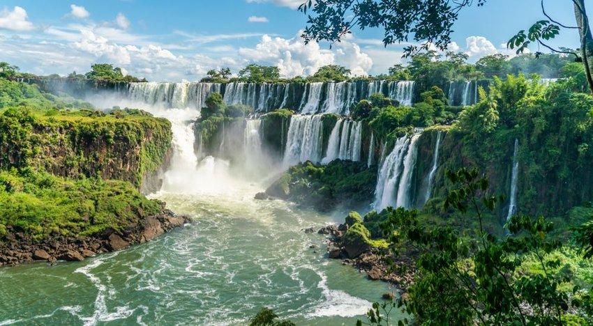 Iguazu Falls, Argentina — 'Black Panther'