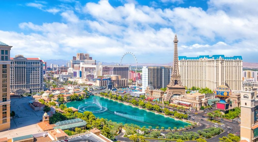 Las Vegas, Nevada (85% Sunshine)