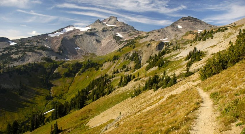 Pacific Crest Trail, 2,650 miles