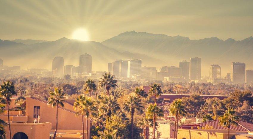 Phoenix, Arizona (85% Sunshine)
