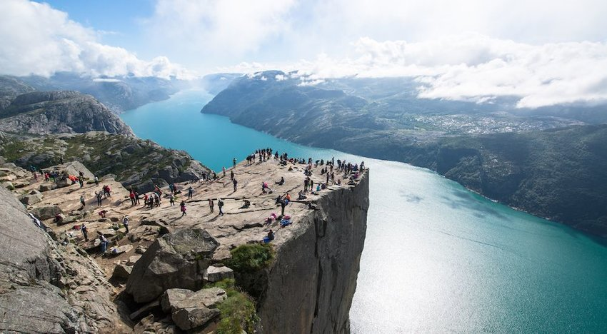 Preikestolen, Forsand, Norway — 'Mission: Impossible — Fallout'
