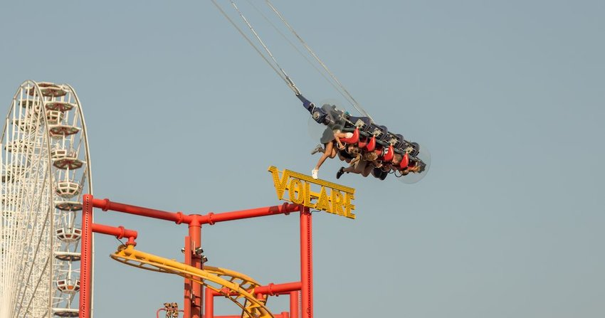 3 Most Extreme Amusement Park Rides in the U.S.