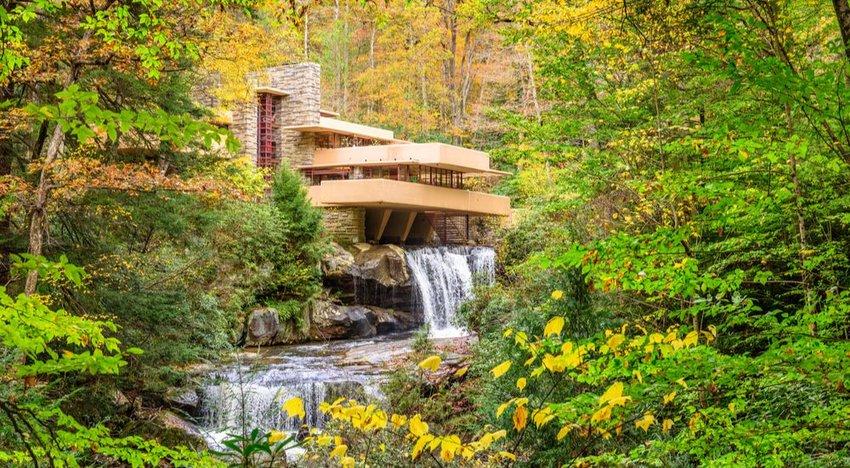 Fallingwater, Mill Run, Pennsylvania