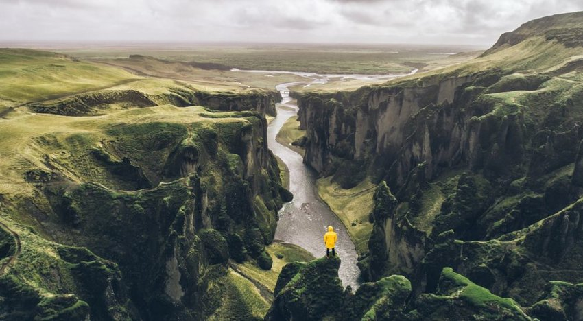 Fjadrárgljúfur Canyon, Iceland
