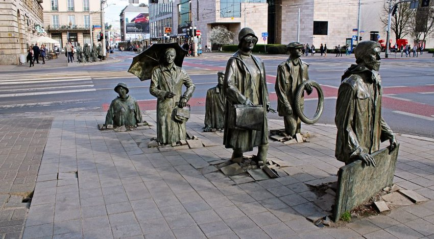 Monument of the Anonymous Passerby — Wroclaw, Poland