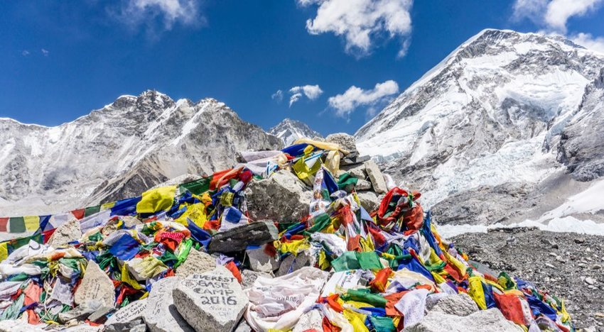 Mt. Everest Base Camp, Tibet