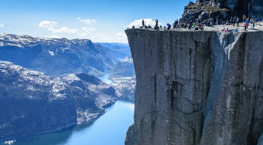 Pulpit (Preikestolen) Rock, Norway