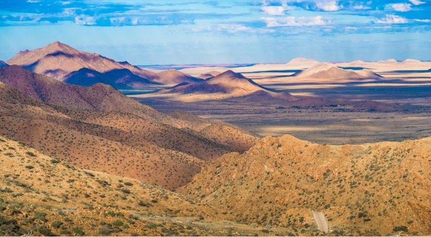Southern Great Escarpment (3,100 miles)