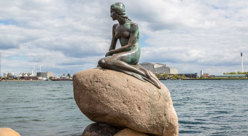 'The Little Mermaid' — Copenhagen, Denmark
