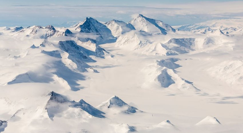 Transantarctic Mountains (2,200 miles)