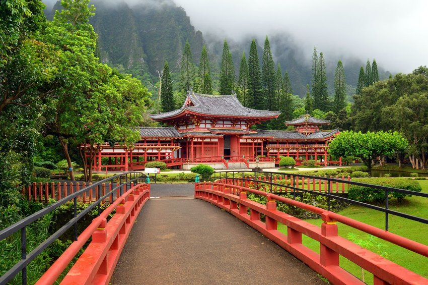 Byodo-In Temple, Hawaii
