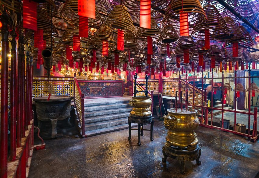 Man Mo Temple, Hong Kong