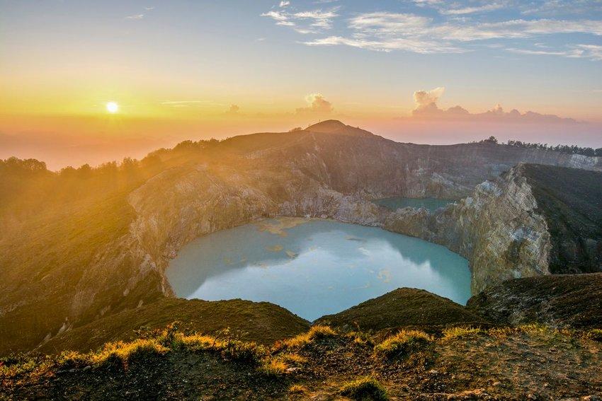 Kelimutu Volcano, Flores Island, Indonesia