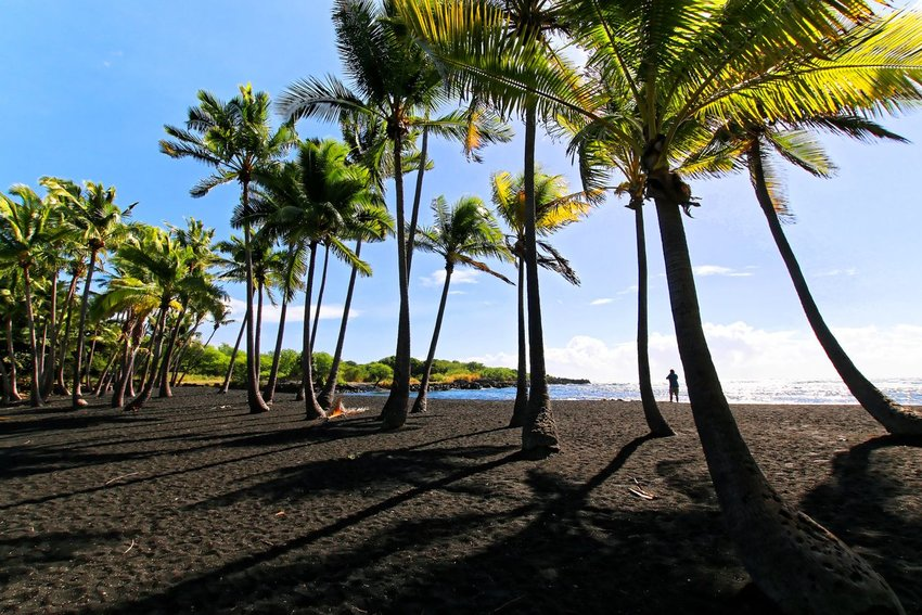 4 Black Sand Beaches You Need to See to Believe