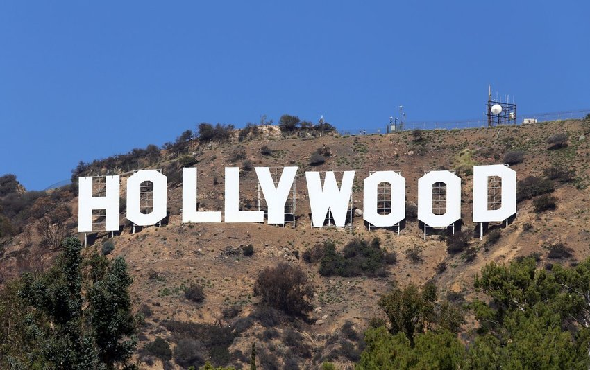 The Hollywood Sign, California