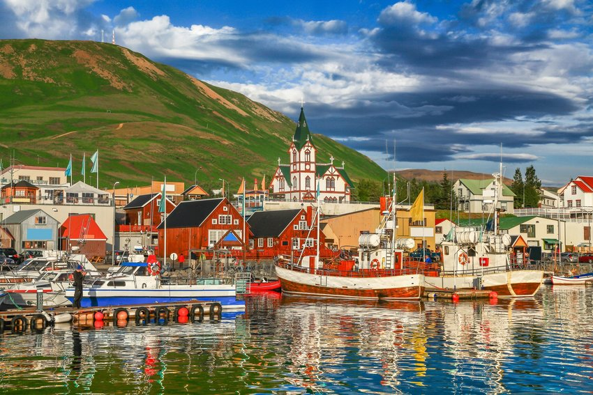 Icelandic harbor