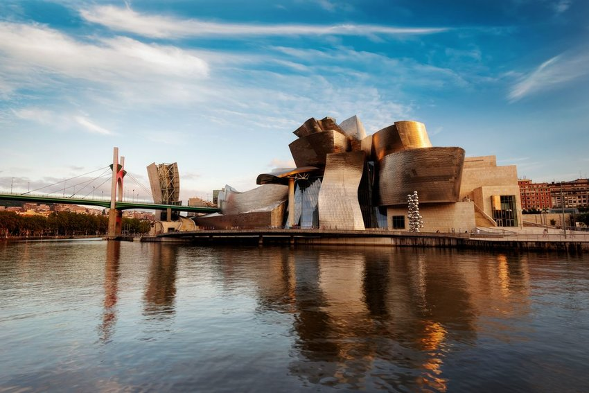 Guggenheim Bilbao in Spain