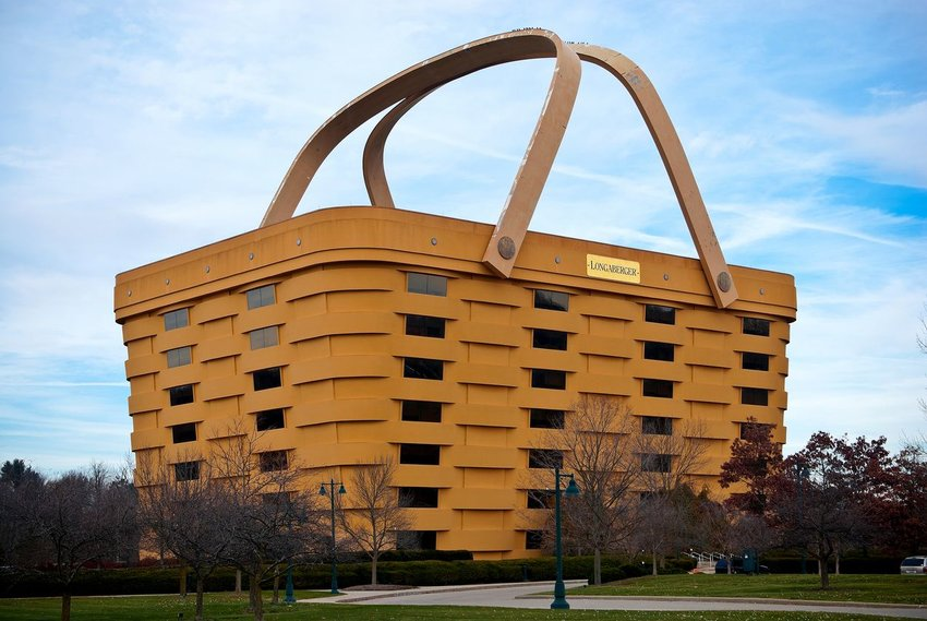 The Longaberger Headquarters in Newark, New Jersey