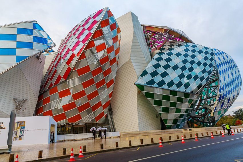 Louis Vuitton Foundation in Paris, France