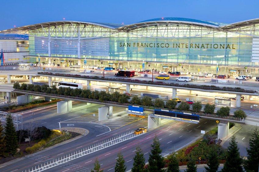 SFO airport exterior
