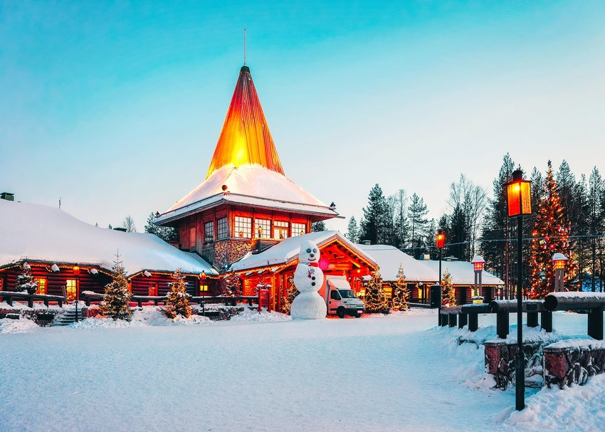 Santa Claus Village in Rovaniemi, Finaldn