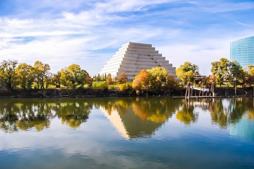 The Ziggurat Building in Sacramento, California