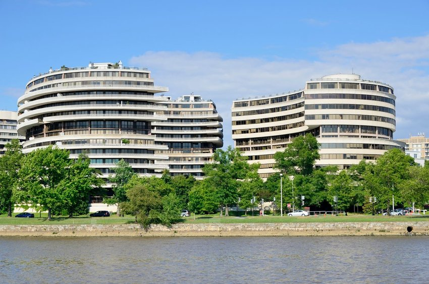 The Watergate Complex in Washington, D.C.