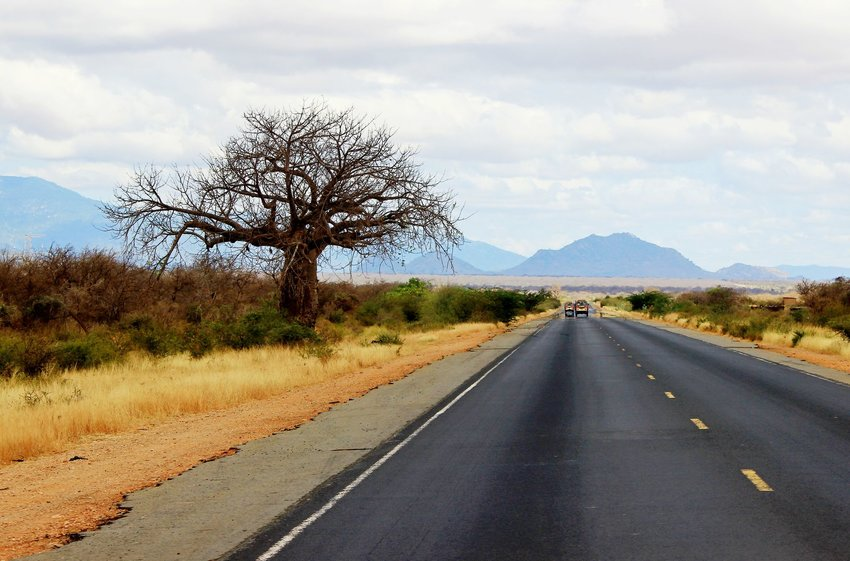 Road in Kenya