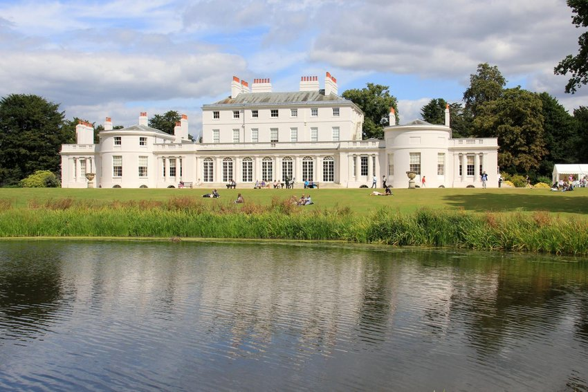 Front view of Frogmore House
