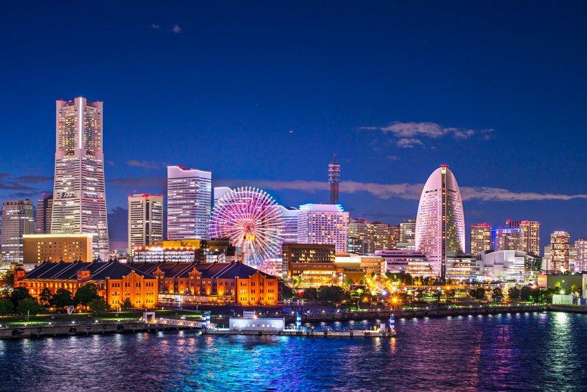 Waterfront in Yokohama, Japan