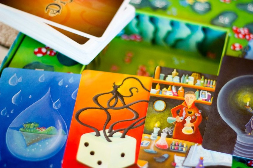 Cards for the Dixit board game