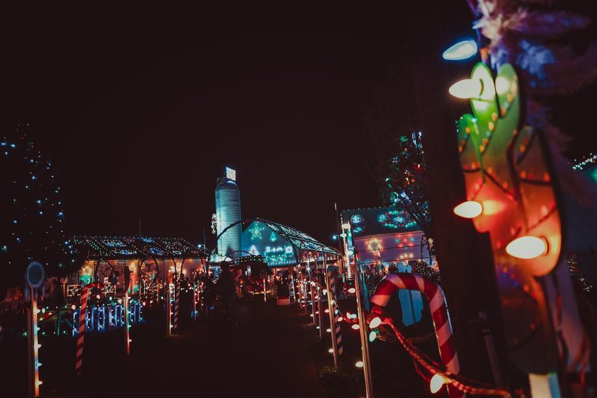 Koziar's Christmas Village light show in Bernville, PA