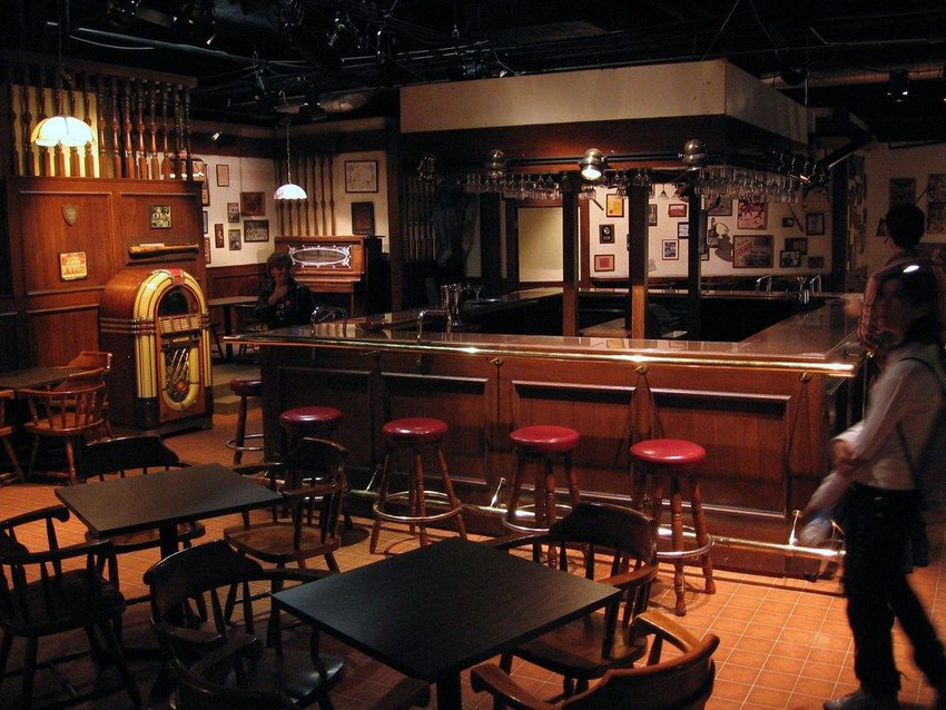 "The bar from the TV show ""Cheers"""