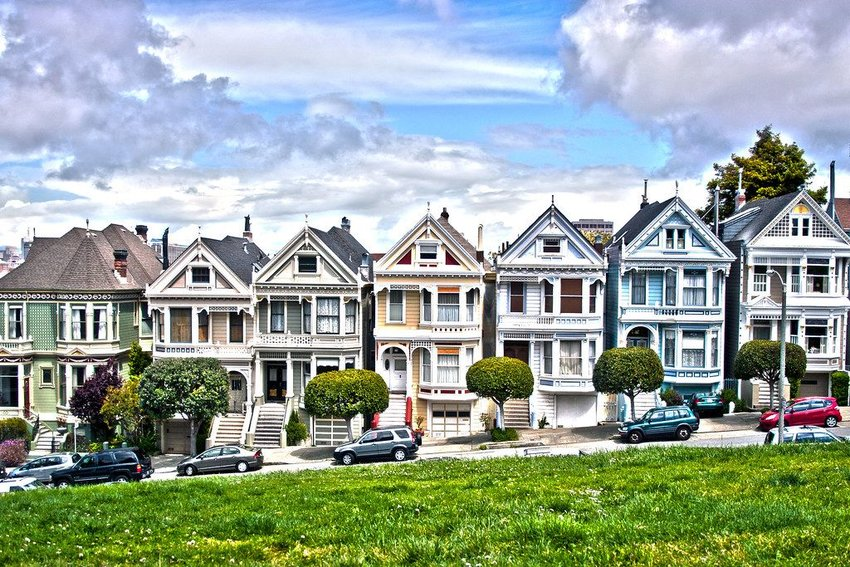 "The ""Full House"" residence in San Francisco"