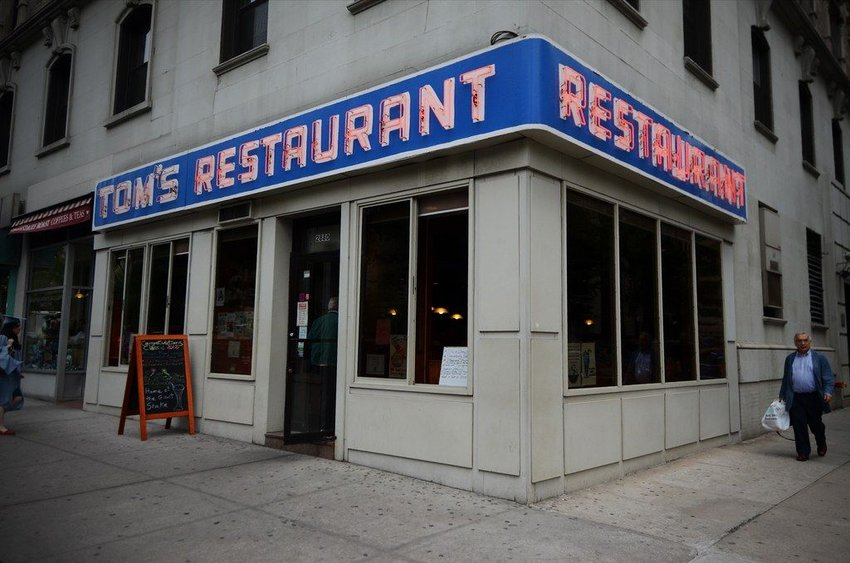 "Tom's Restaurant, location for many scenes in ""Seinfeld"""