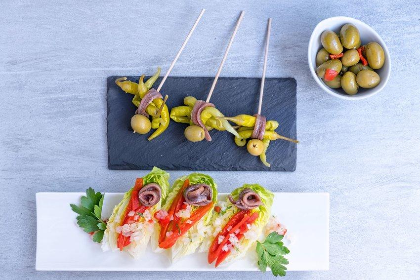 Basque appetizers