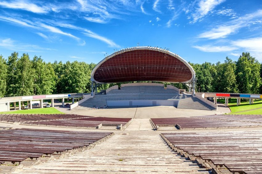 The Song Festival Grounds amphitheater