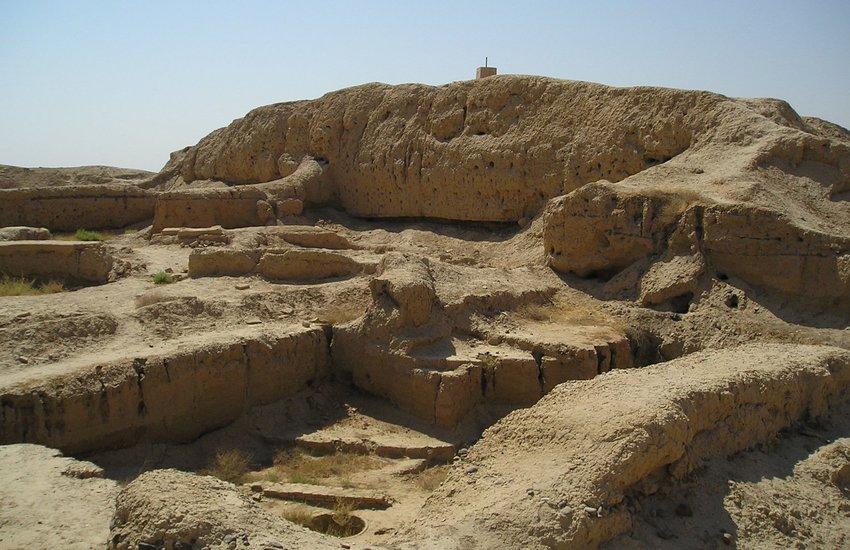 Mari, Syria ruins