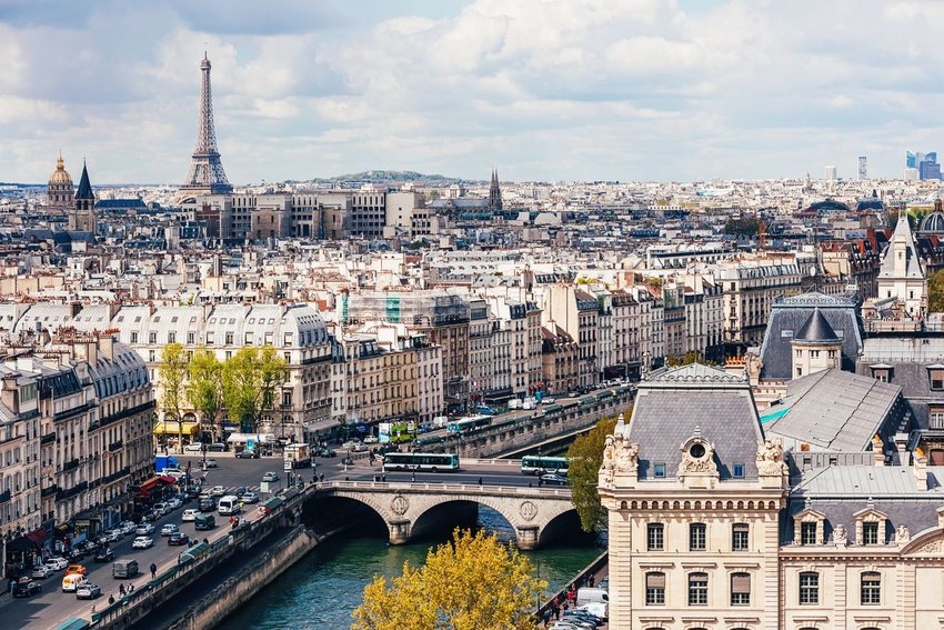 City view of Paris