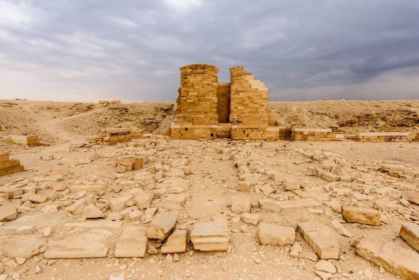 Ruins in Saqqara
